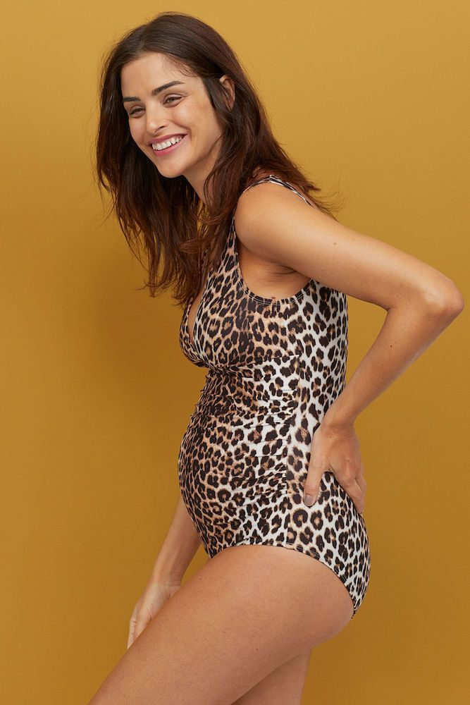 0df232ed91cd5 Spice up your pool days with this super fun pattern that is also super  flattering—after all, it's hard to spot flaws with all that leopard going  on. The ...