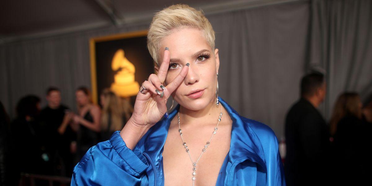 Halsey's Armpit Hair Launches Online Debate