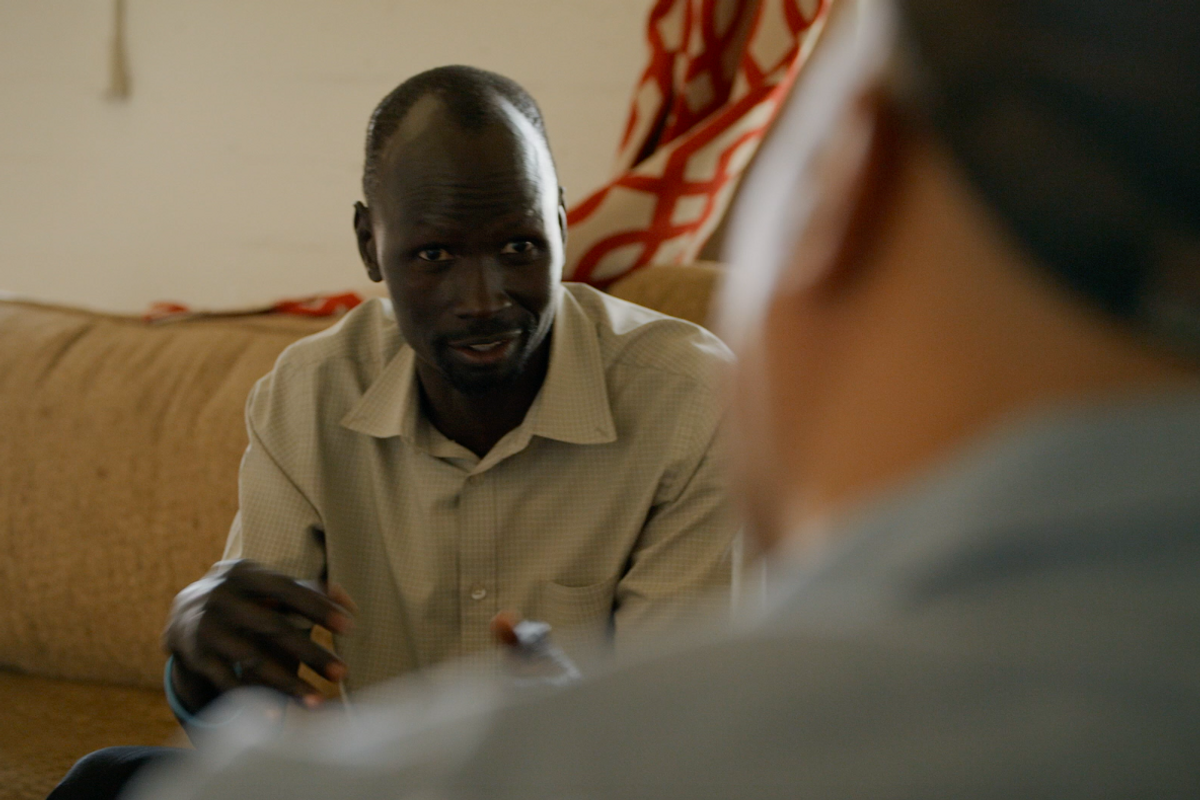 He was a Lost Boy of Sudan. Now he's helping others access healthcare and live their best lives.