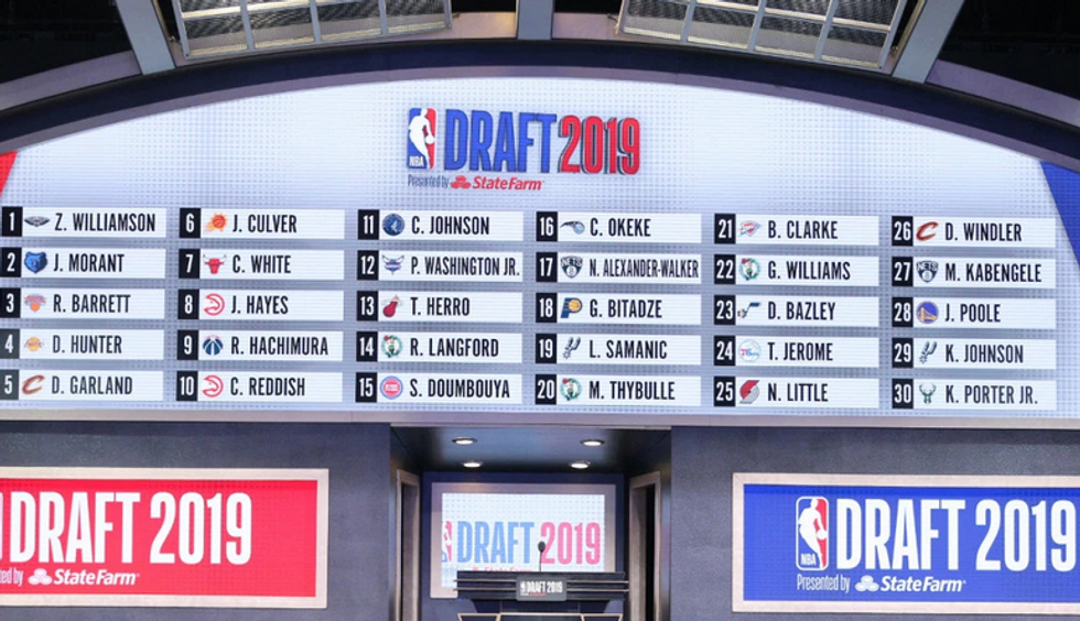 My Winners and Losers of the 2019 NBA Draft