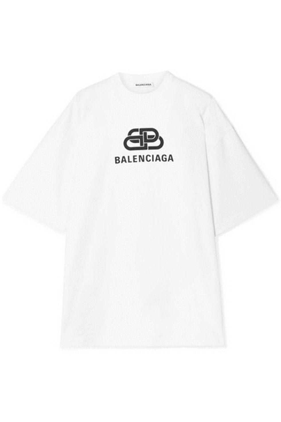 camisetas viralizar look instagram BALENCIAGA