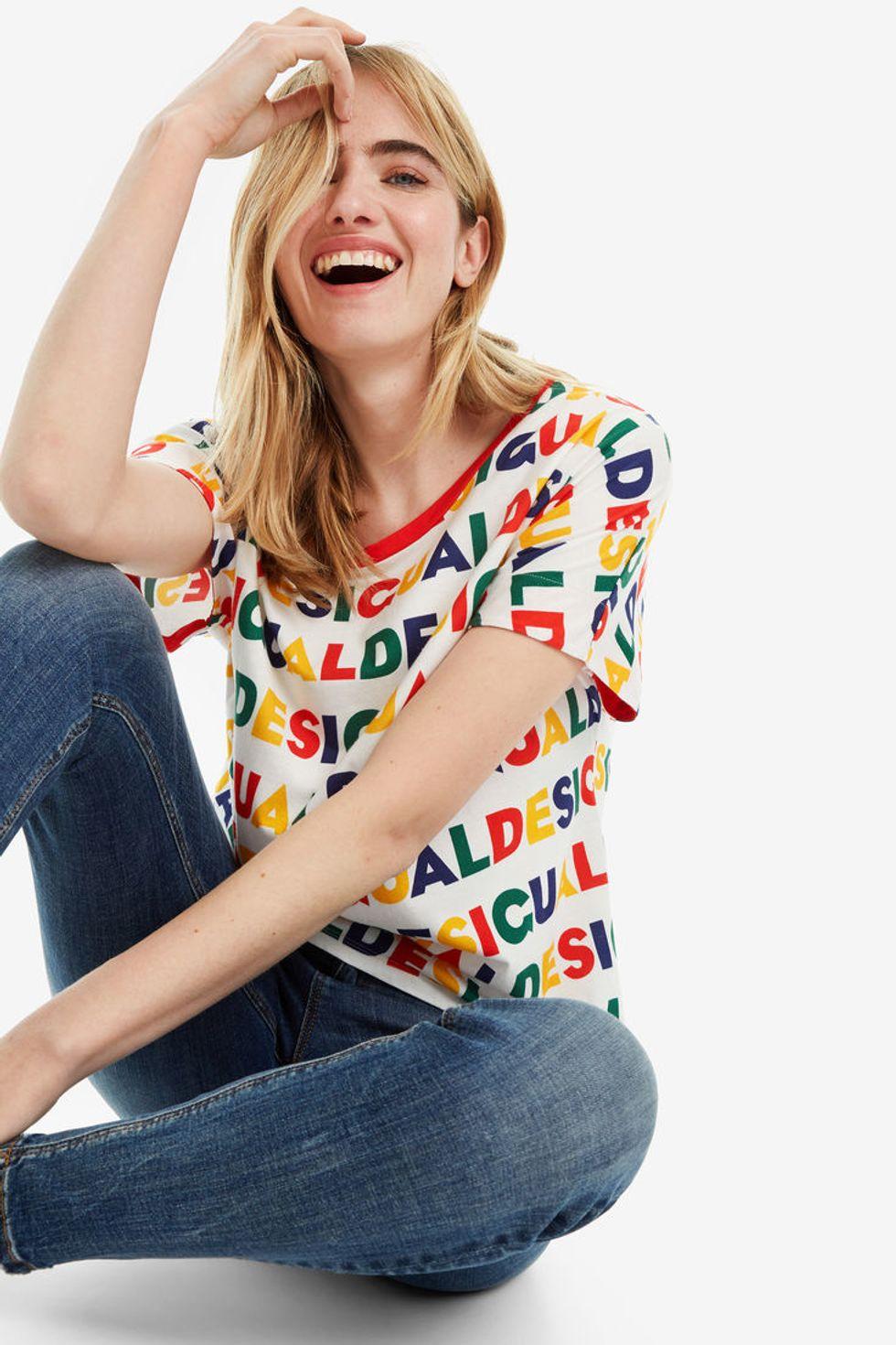 camisetas viralizar look instagram DESIGUAL