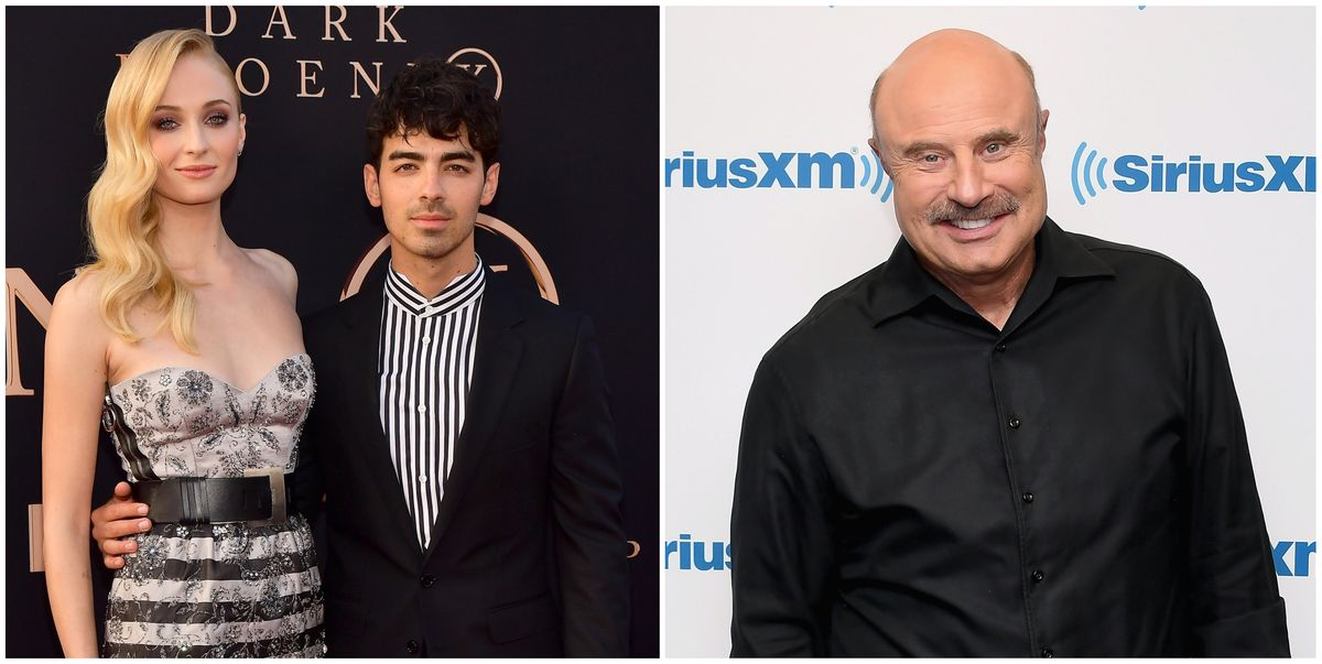 Dr. Phil May Have Just Revealed Sophie Turner And Joe Jonas' Wedding Date