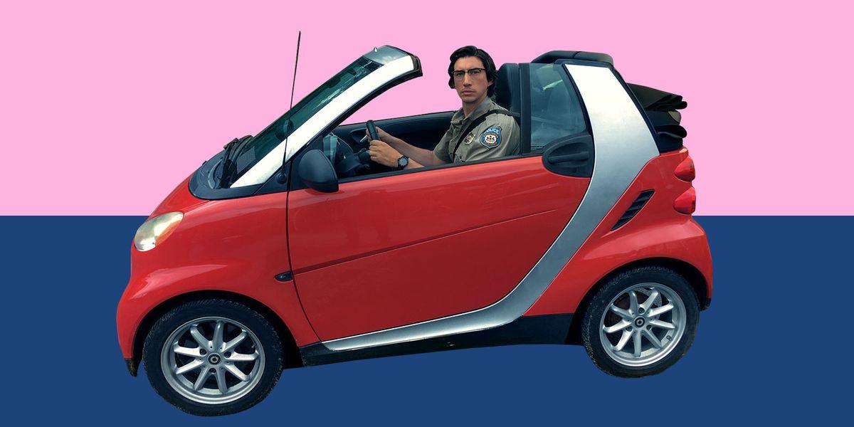 Adam Driver Is So, So Big