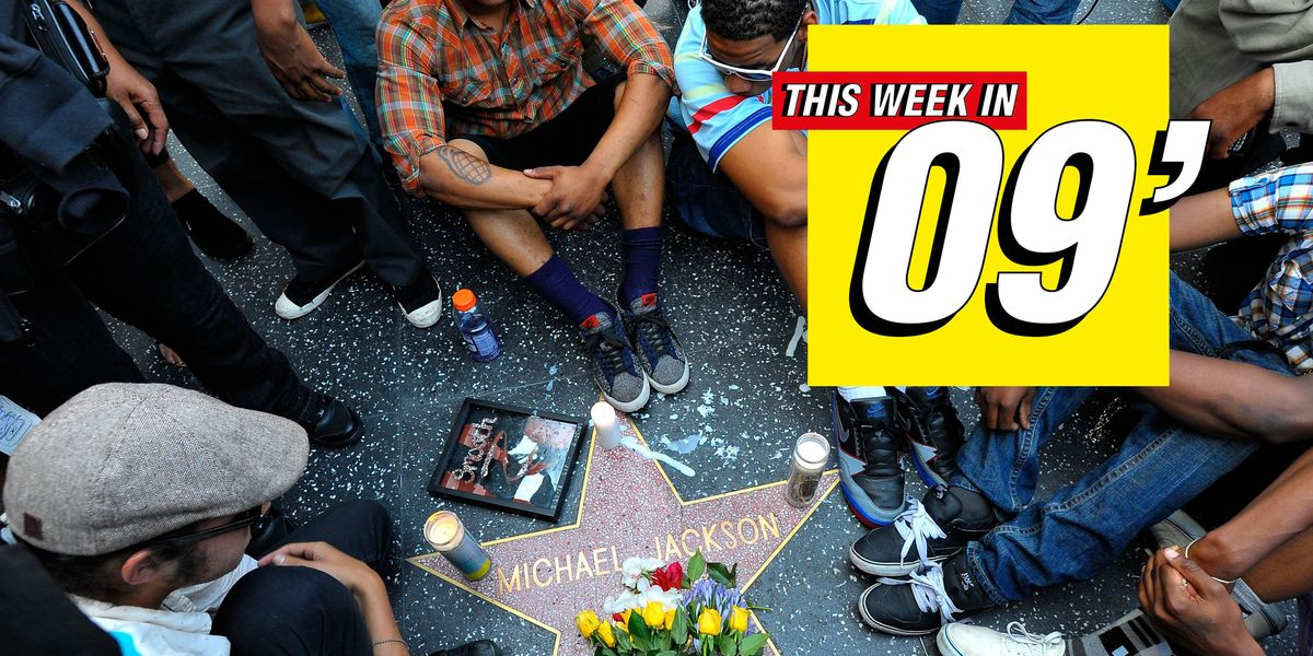 This Week in 2009: Michael Jackson's Death Rocked the World