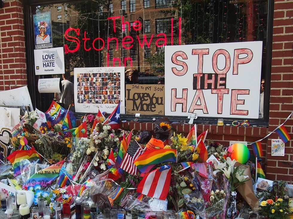 The First Brick Wasn't Thrown At Stonewall Just So We Would Forget It 50 Years Later