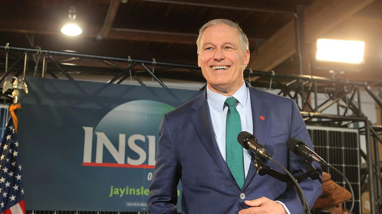 Jay Inslee's Latest Climate Plan Targets the Fossil Fuel Industry