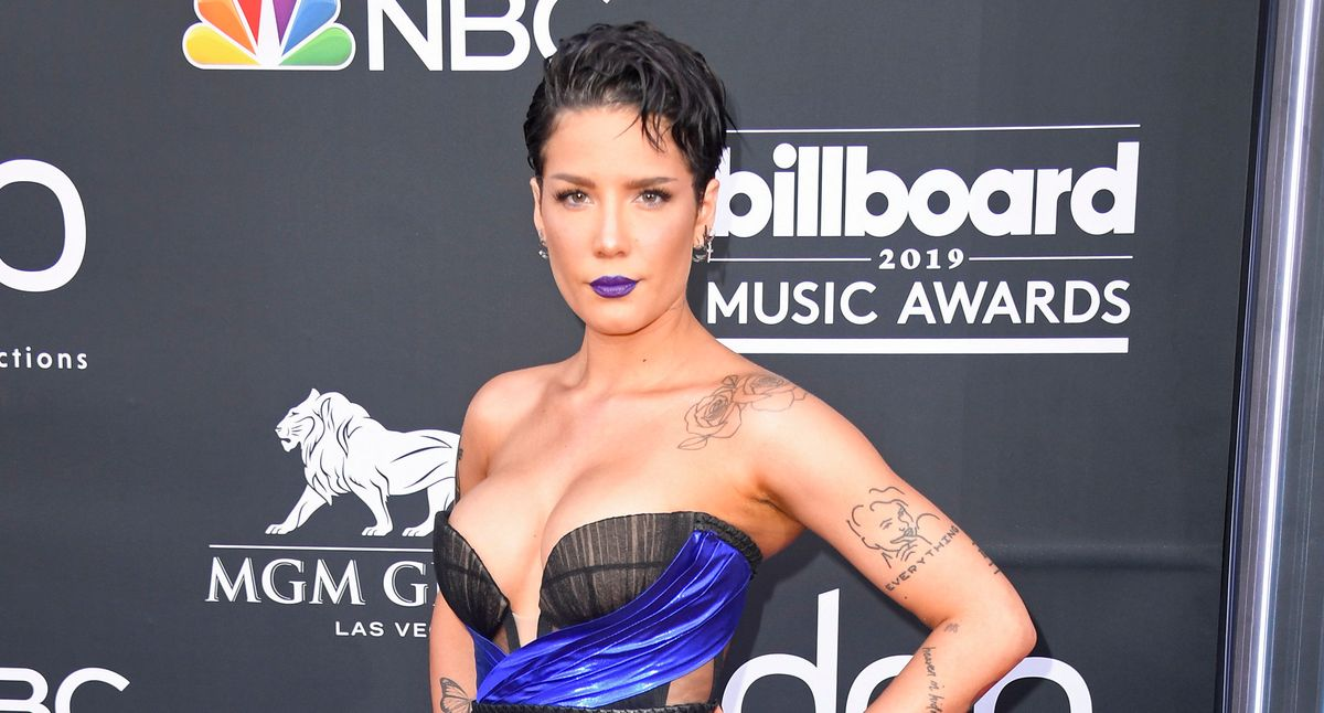 Halsey Opens Up About Checking Herself In To Psychiatric Hospitals