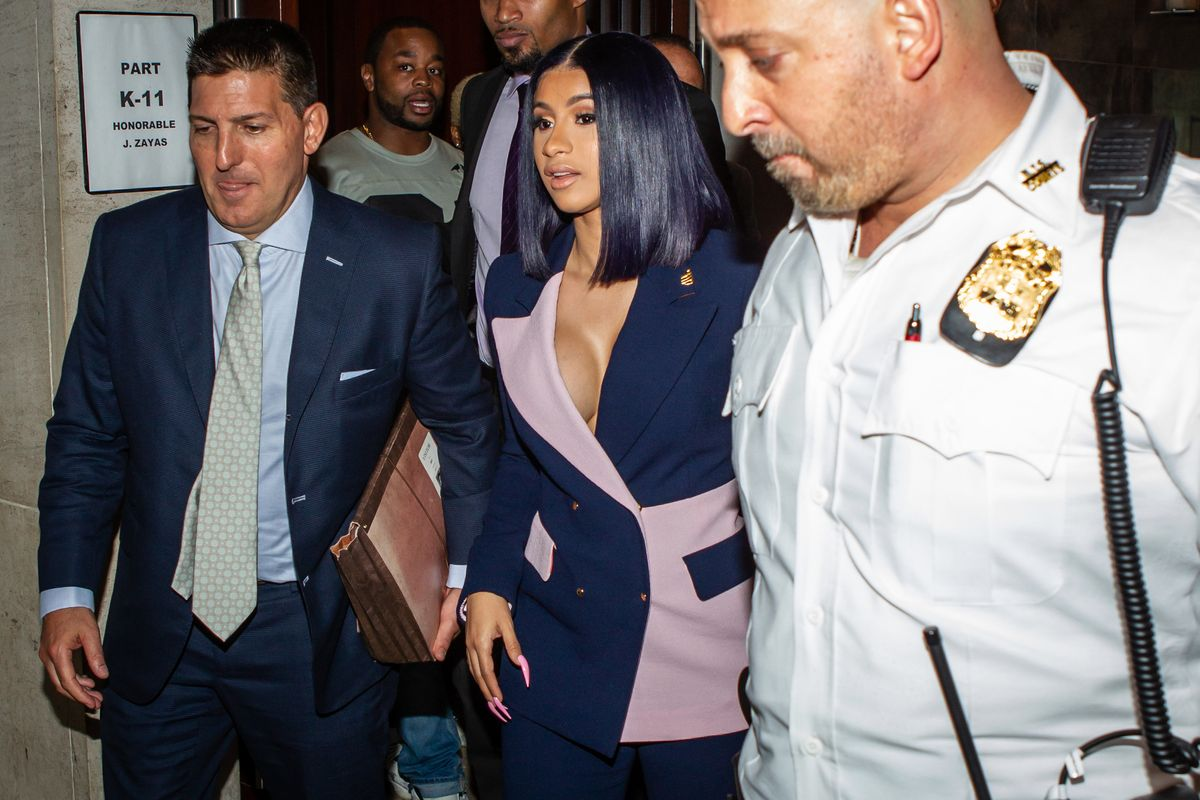 Cardi B Pleads Not Guilty