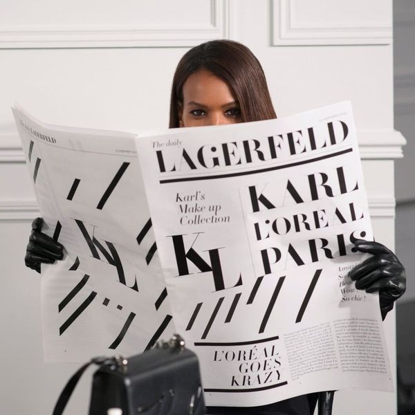 Karl Lagerfeld Is Launching a Makeup Range