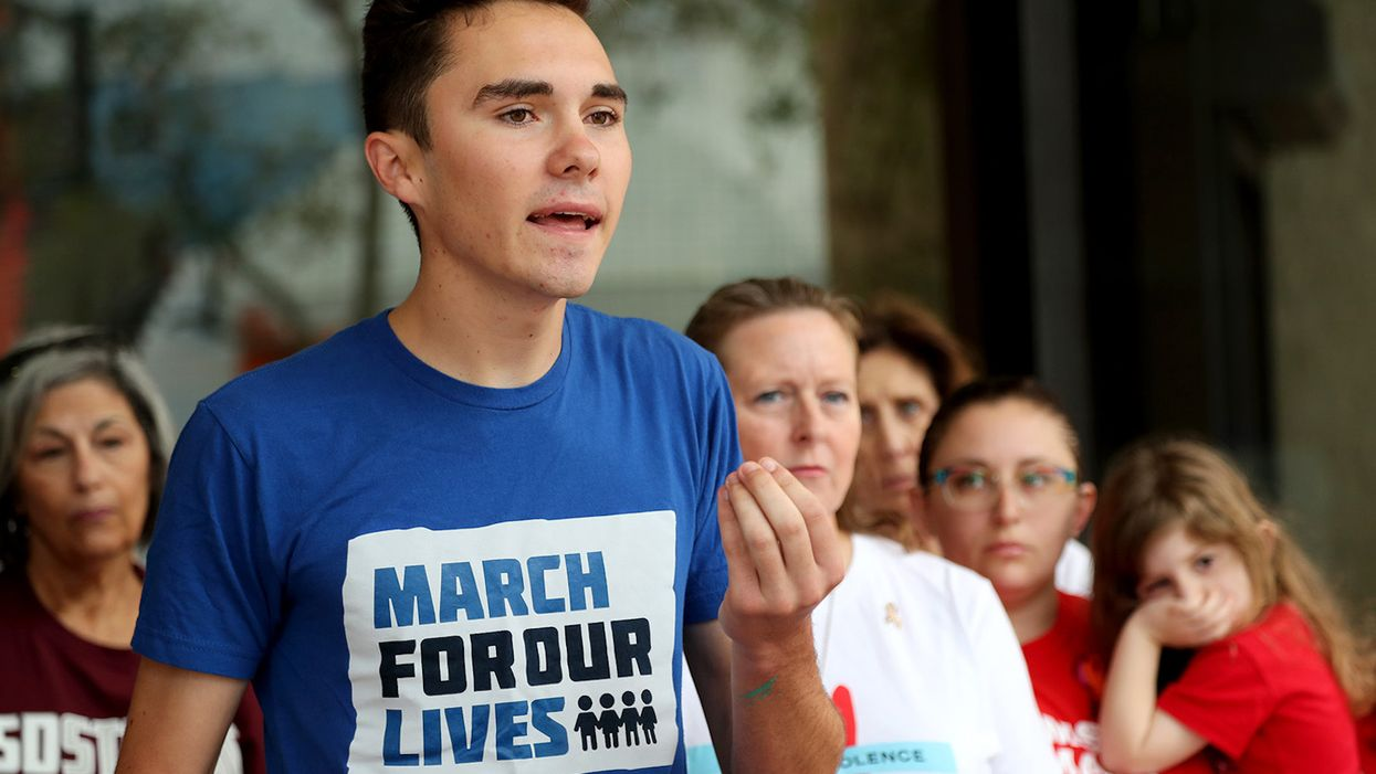 David Hogg says people keep trying to assassinate him and that his death would 'invigorate' gun control movement