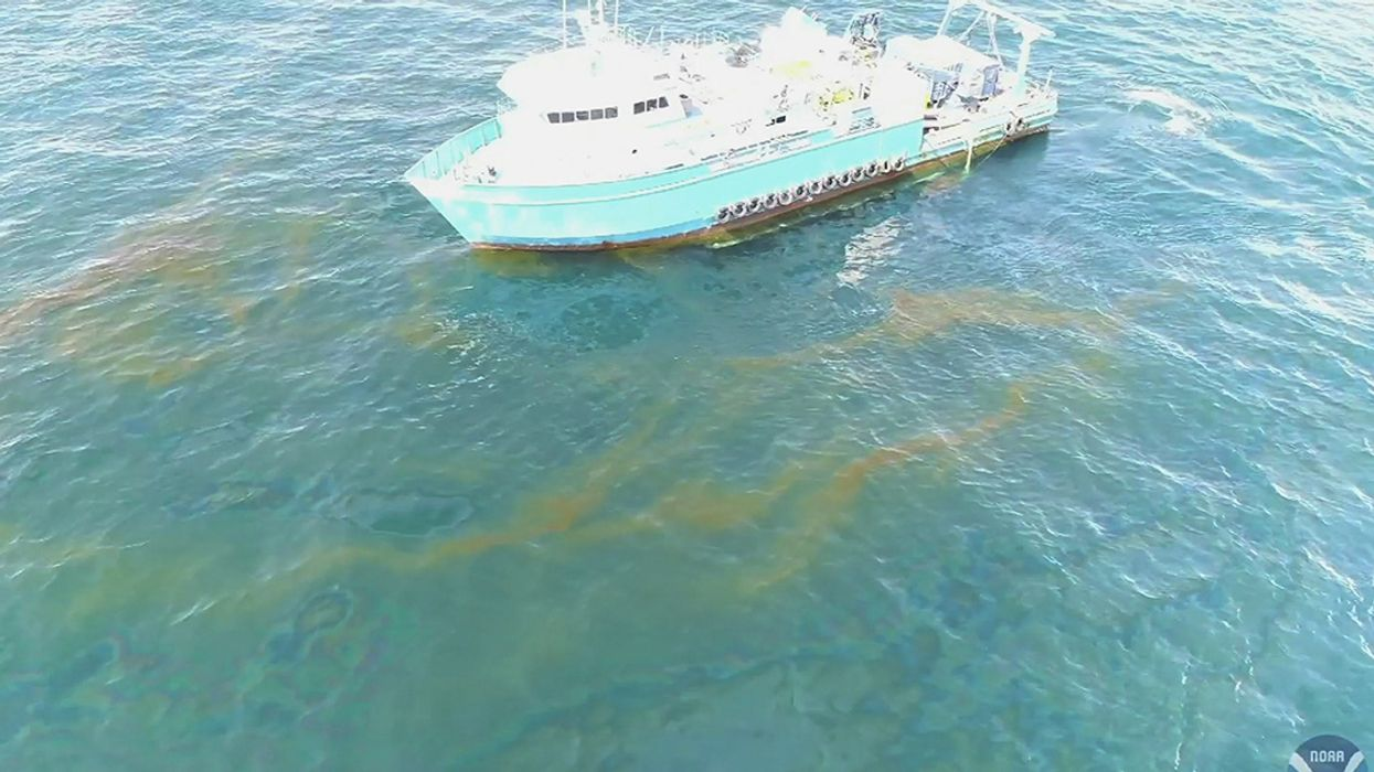 Oil Leak Update: 1000x Worse Than Rig Owner Claimed, Still GoingAfter 14 Years