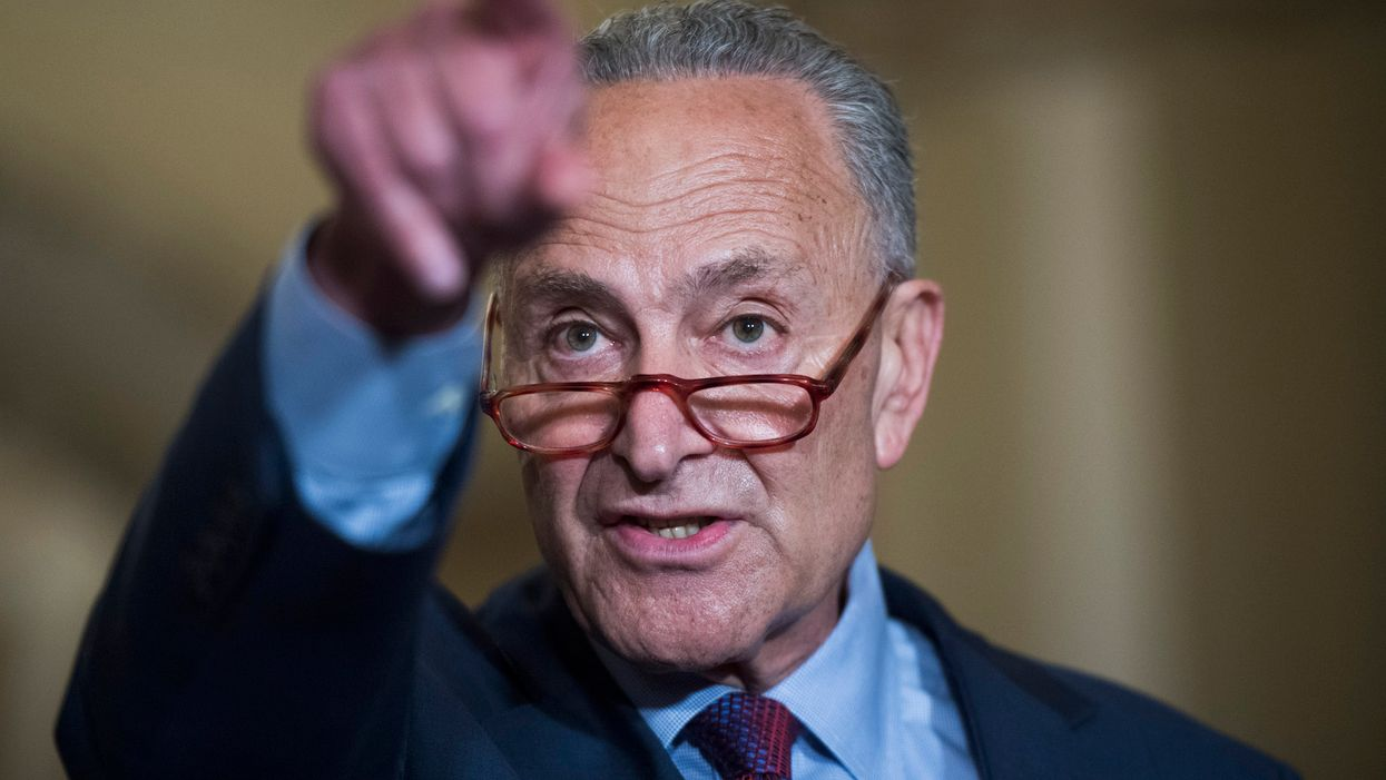 Schumer once said the border crisis was manufactured. Now he's using a picture of dead migrants to blame Trump for it