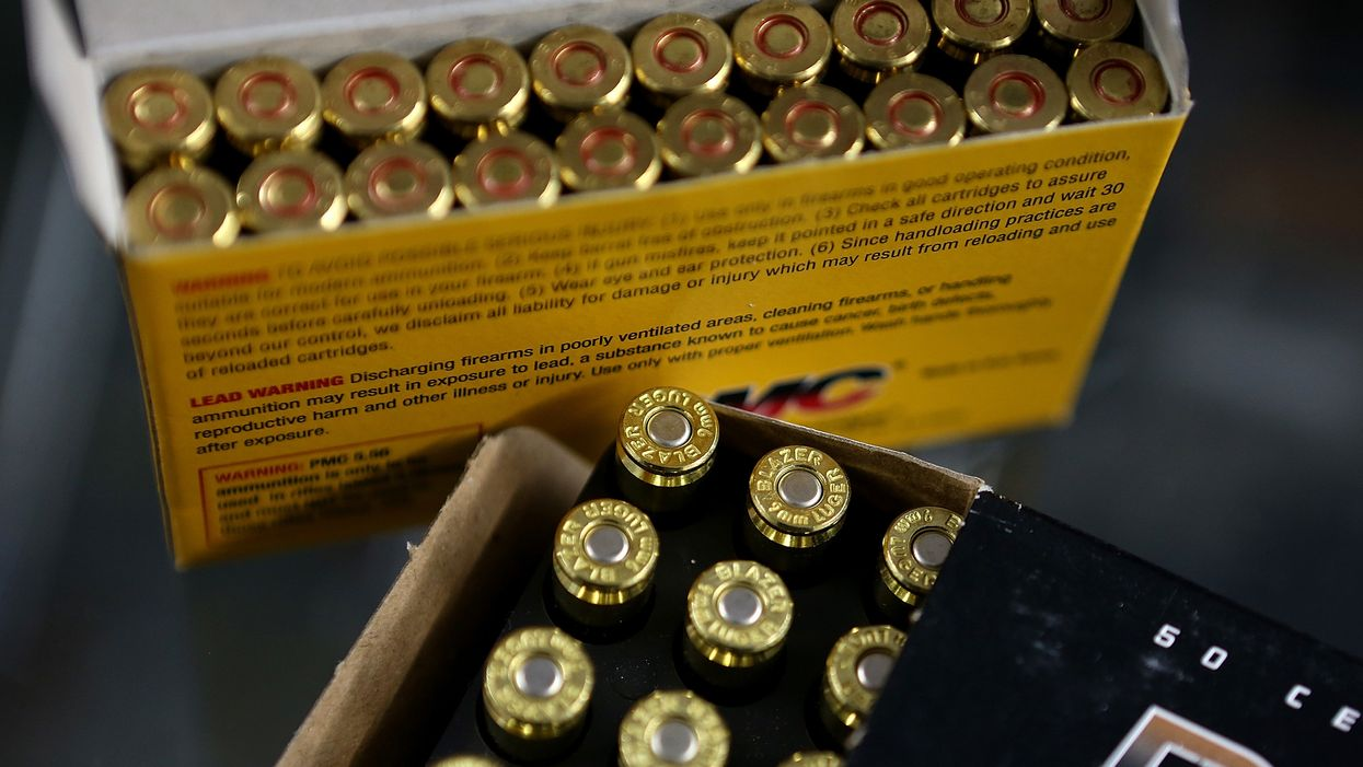 California passes law mandating background checks before ammunition sales