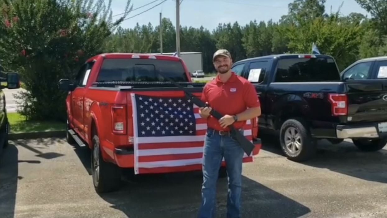 Ford asks car dealership to pull ad for free shotgun, Bible, and American flag with vehicle purchase — and Alabama outfit complies