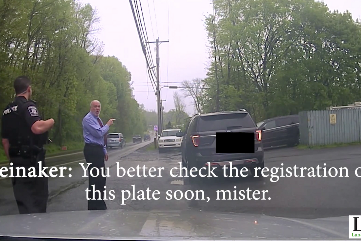 Dashcam footage reveals Pennsylvania judge allegedly using position to influence officer