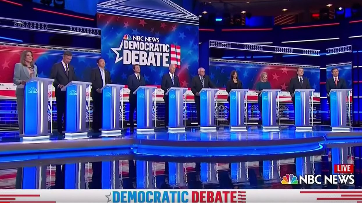 Climate Crisis Gets 15 Minutes Total in First Two Nights of Dem Debates