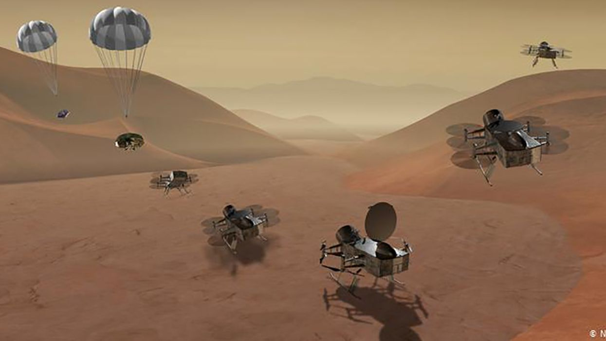 NASA Plans Drone Mission to Titan, Saturn's Largest Moon