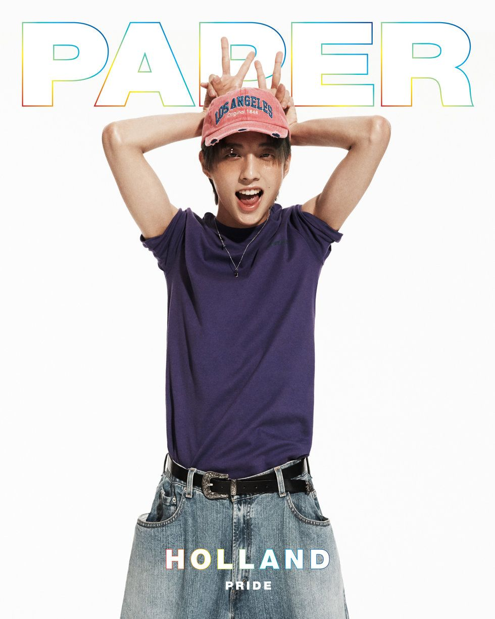 Gay K-Pop Star Holland on the Cover of PAPER Magazine Pride