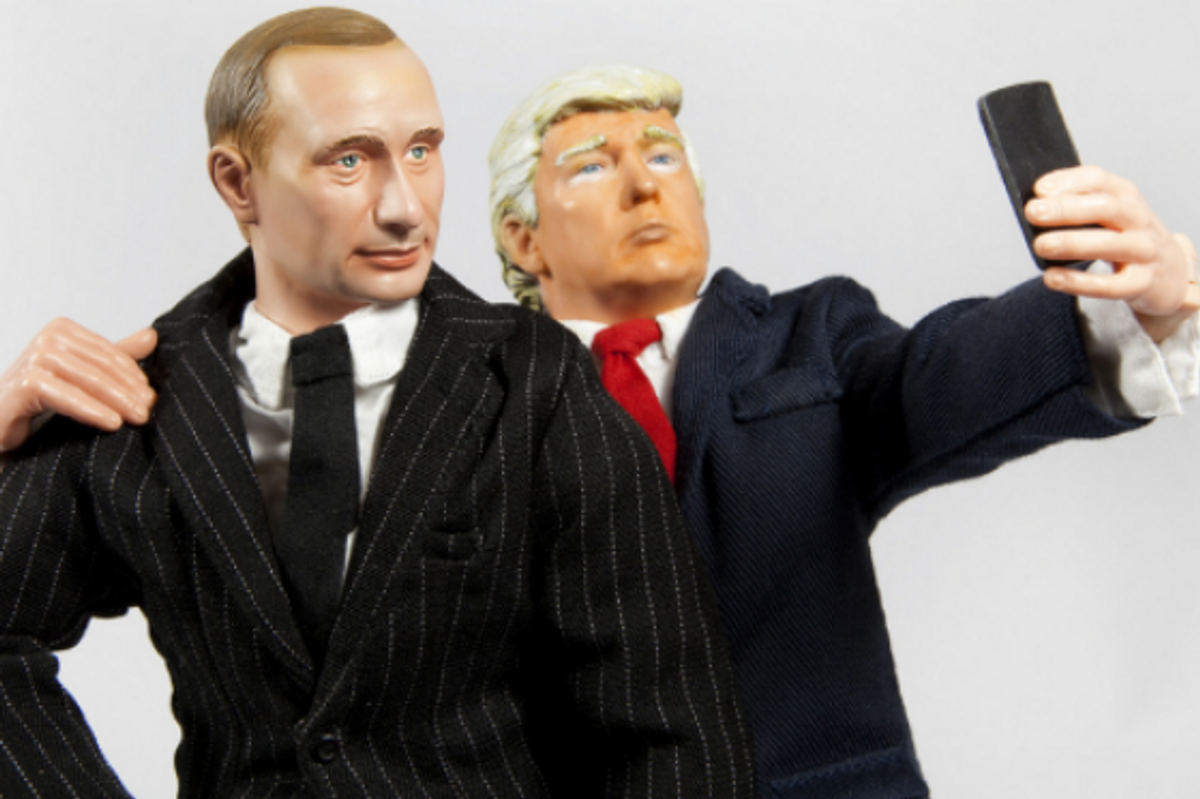 Trump finally told Putin, 'Don't meddle in the elections,' but with a smirk and a laugh. Disgraceful.