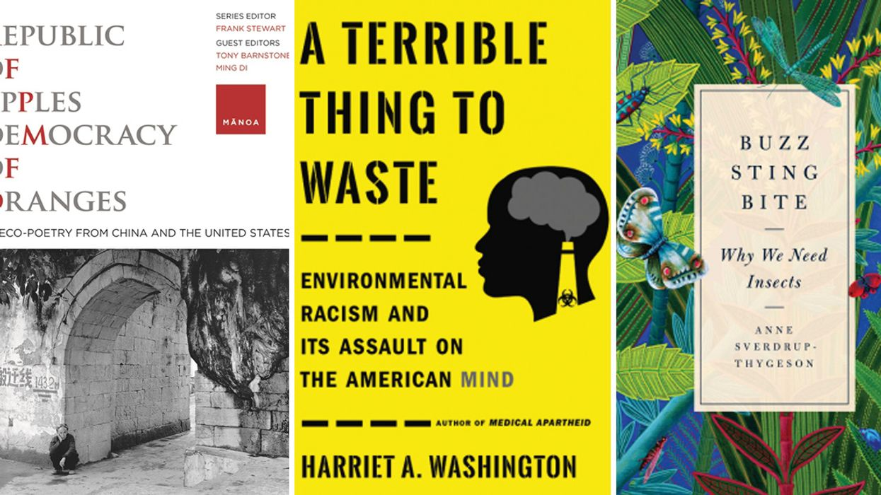 Plastic, Insects, Salmon and Climate Change: The 13 Best Environmental Books of July