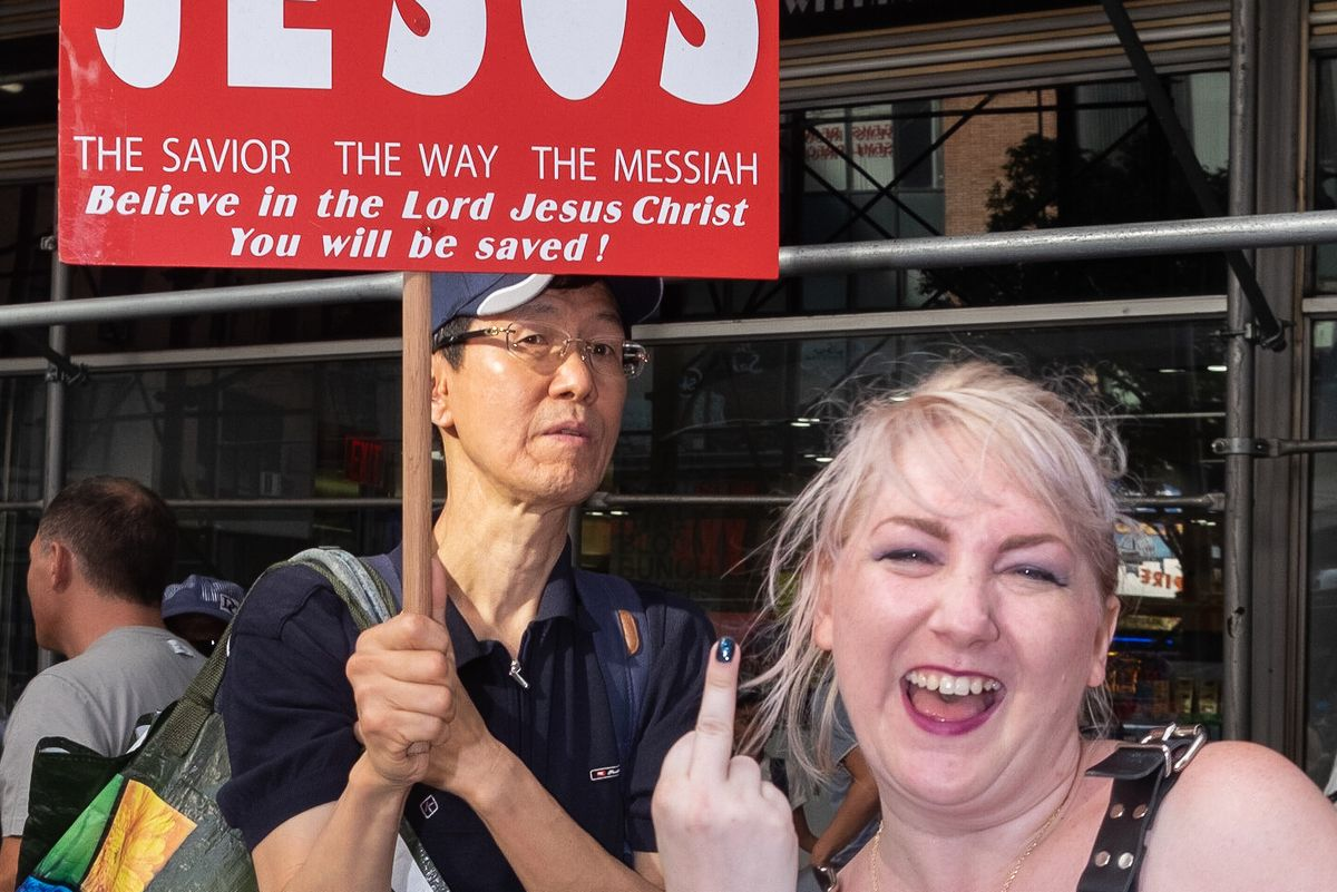 15 Photos From the NYC Dyke March