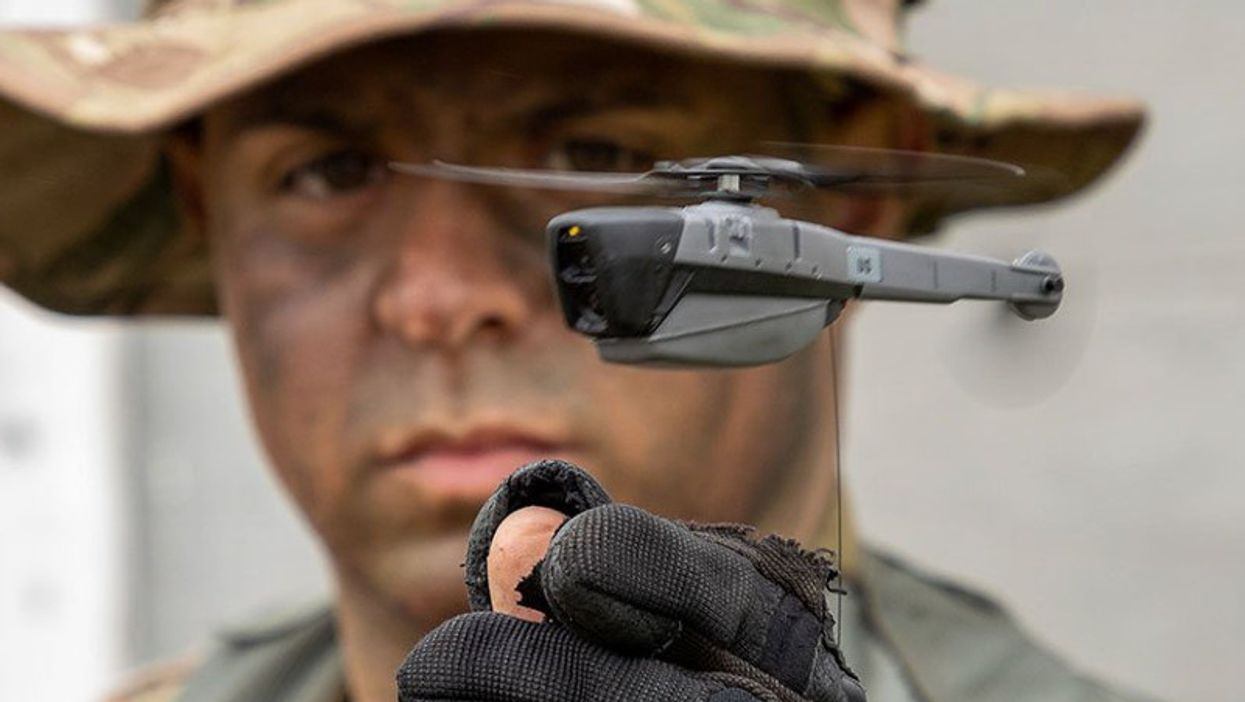 U.S. Army to deploy tiny helicopter drones in Afghanistan