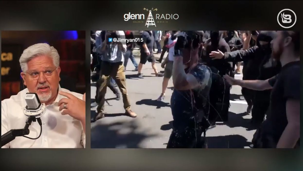 'This is about fear and intimidation': Glenn Beck on Antifa assault of journalist Andy Ngo
