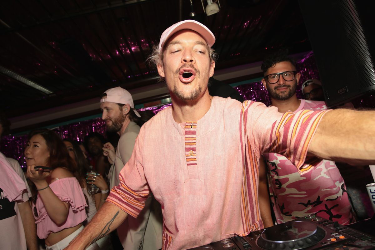 Diplo's Phone Was Confiscated at Joe Jonas and Sophie Turner's Second Wedding