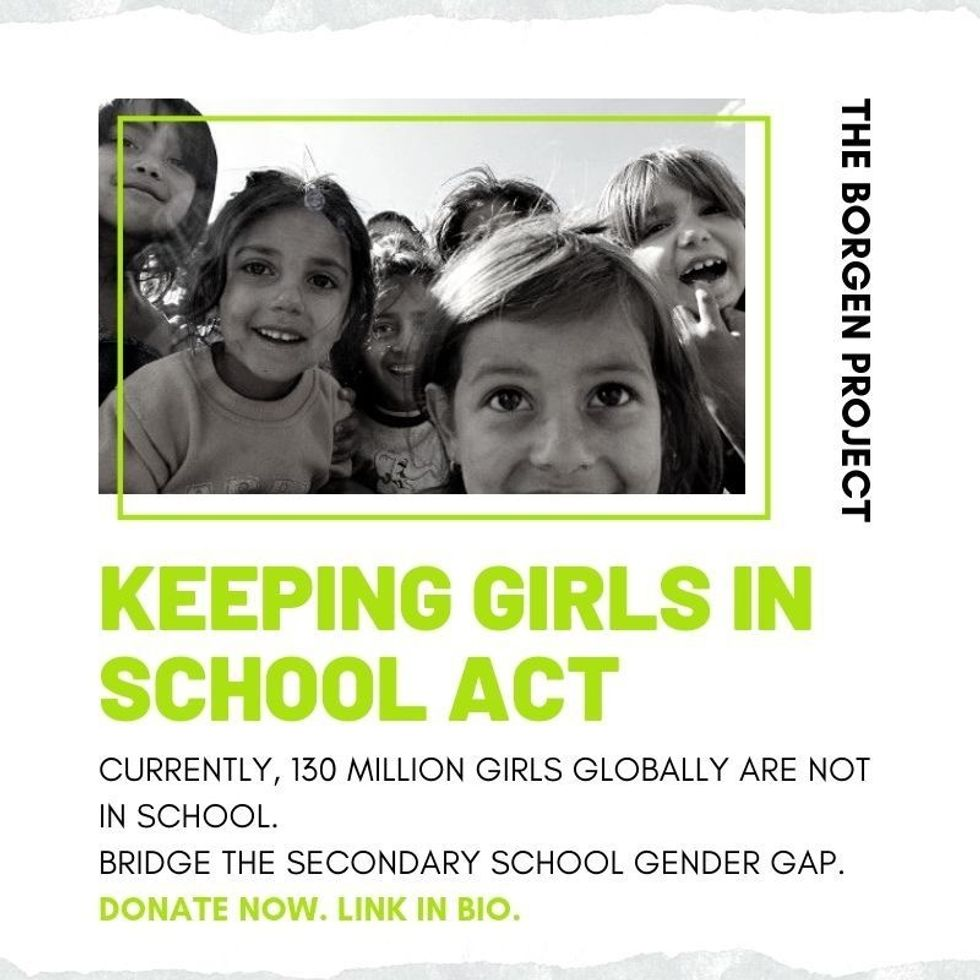 Keeping Girls In School Act- Act Now!