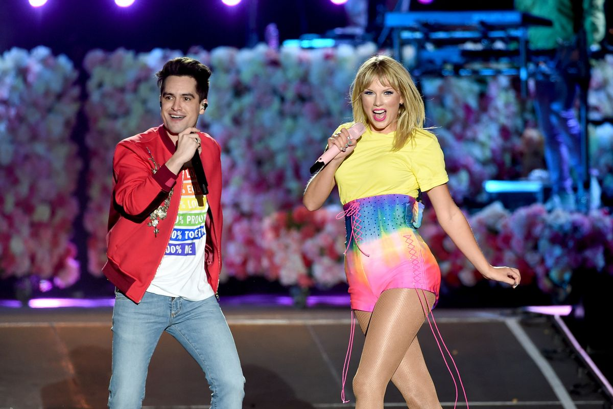 Brendon Urie Stands With Taylor Swift