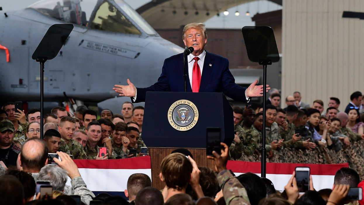 ABC, CBS, and NBC announce they will snub President Trump's 'Salute to America' celebration