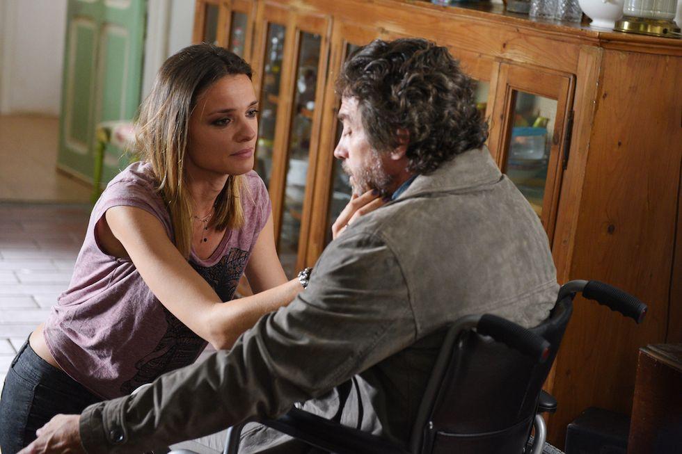 Christiane Filangieri e Alessio Boni La strada di casa Rai 1