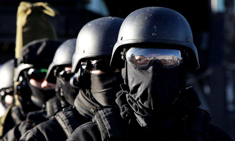 Esercitazione anti-terroristica