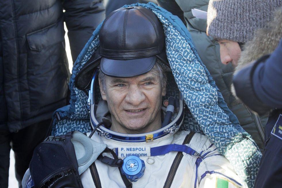 Russian Soyuz MS-05 space capsule lands in Kazakhstan