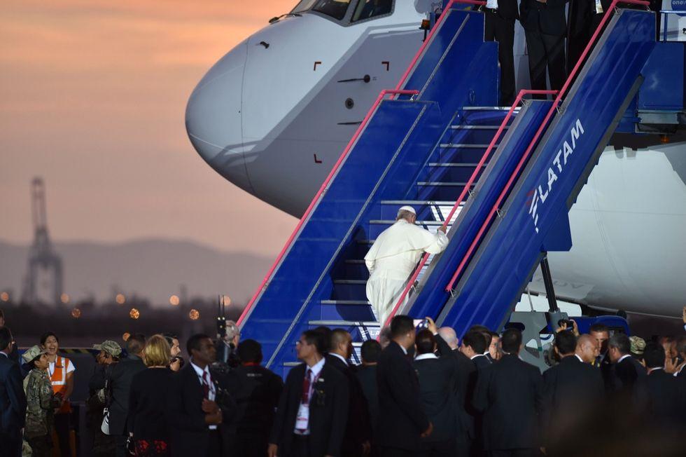 Pope Francis Chile Per\u00f9
