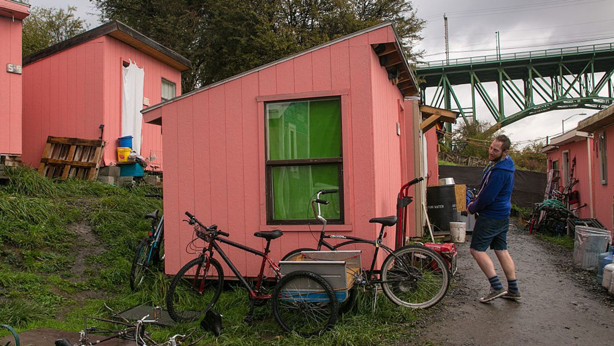 Tiny homes and floating apartments: California mayors' reply to the growing homeless problem