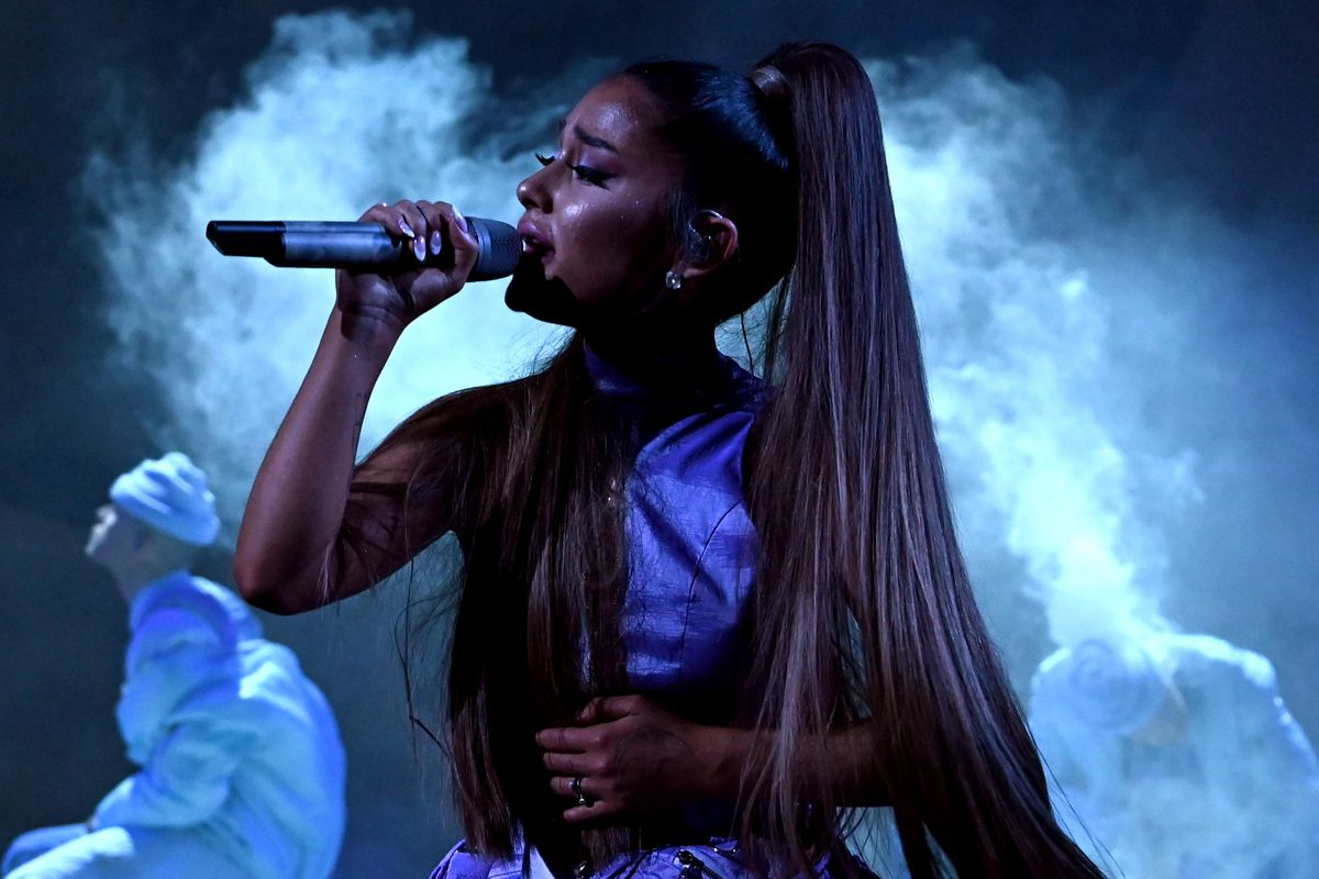 Ariana Grande Opens Up About Crying Onstage