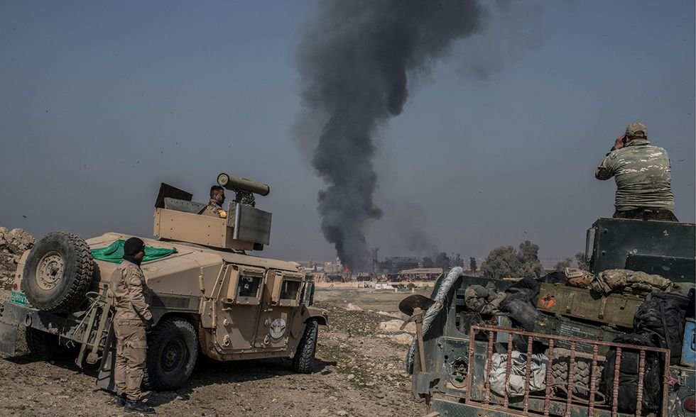 Offensiva anti Isis Mosul ovest