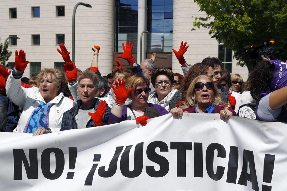 Protest in Spain