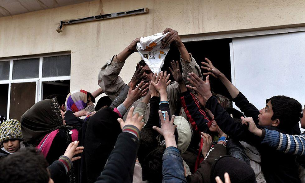 Battaglia di Mosul, profughi