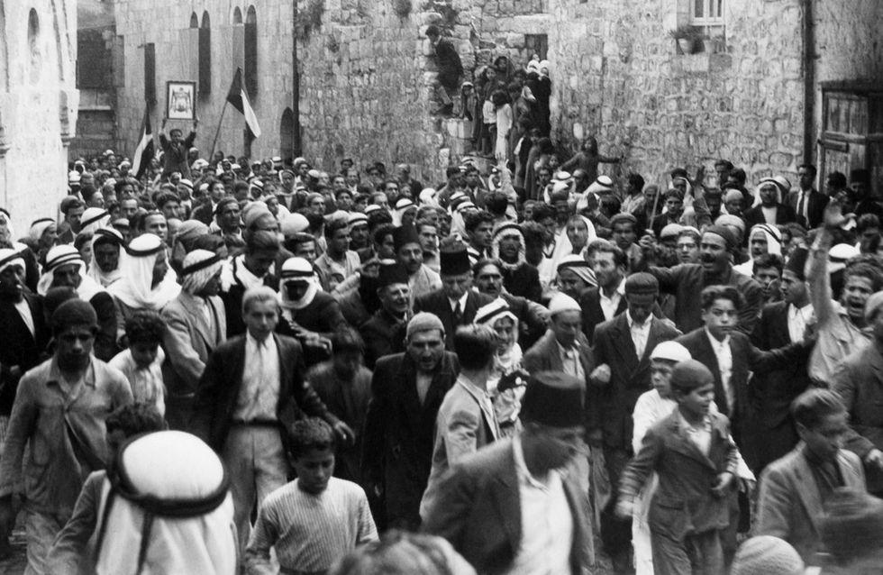 gerusalemme rivolte mandato palestina 1936