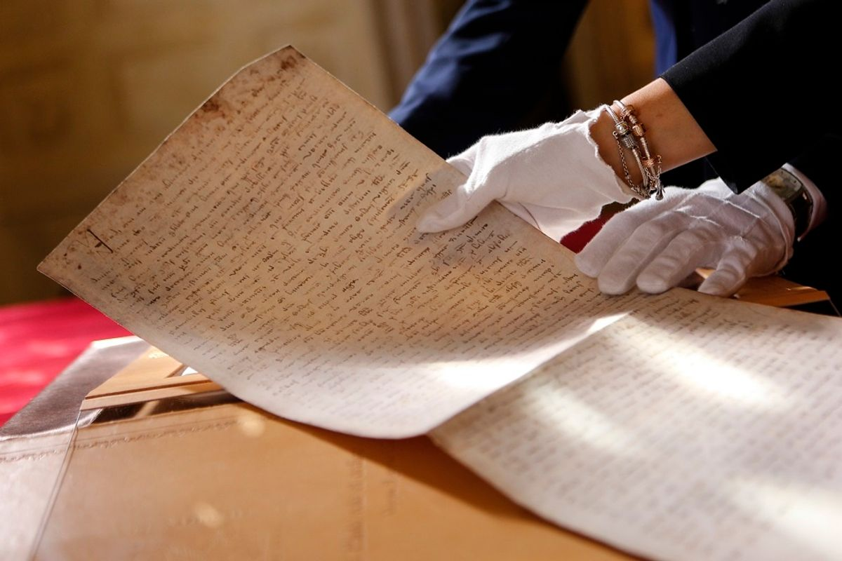 Il testamento di Marco Polo e il processo ai Templari rivivono nelle «copie perfette» di Scrinium