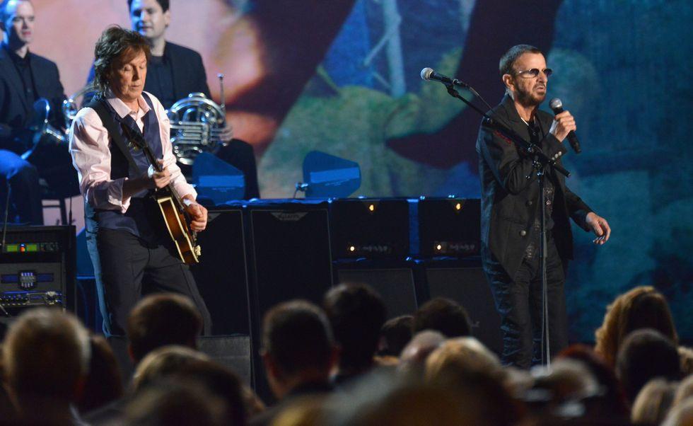 Paul McCartney e Ringo Starr di nuovo insieme
