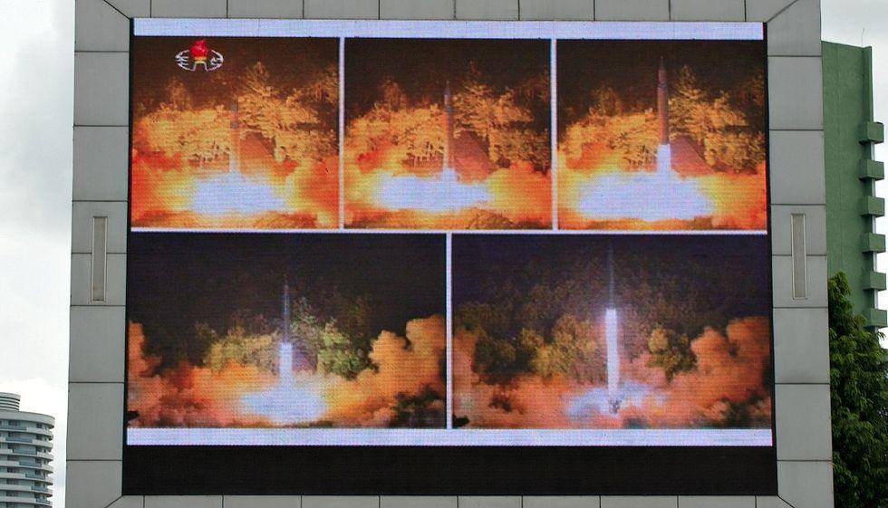 corea del nord missili