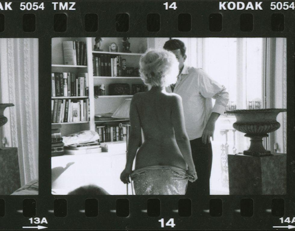 Alison Jackson, Marilyn undressing for JFK