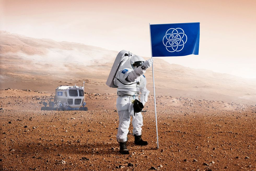 Could This Flag Unite Our Planet When We Land on Mars?