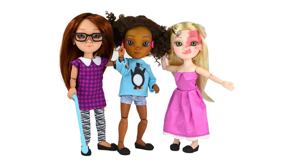 3D-Printed Dolls Embrace Diversity With Hearing Aids and Birthmarks