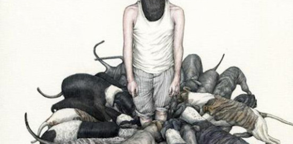 Surreal illustrations help anxiety sufferers find common ground.