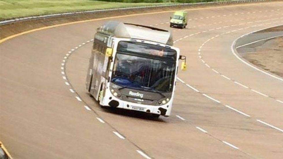 Bus That Runs On Cow Manure Breaks Bus Land Speed Record